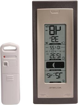 AcuRite 00592A4 Wireless Indoor/Outdoor Thermometer with Hum