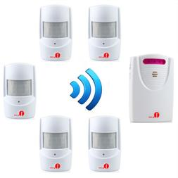 1byone 1000ft Wireless Driveway Alarm System Motion Sensor H