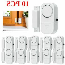 10PCS Wireless Home Window Door Burglar Security Alarm Syste