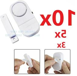 10X WIRELESS Home Window Door Burglar Security ALARM System