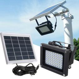 120 LED Solar Powered Motion Sensor Security Flood Light Out