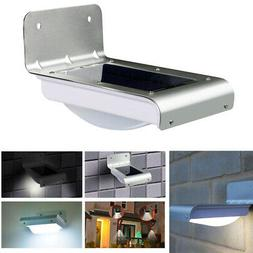 16 LED Solar Power Motion Sensor Garden Security Outdoor Yar