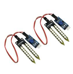2 x Soil Moisture Hygrometer Detection Humidity Sensor Modul