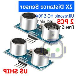 2X Ultrasonic Module HC-SR04 Distance Transducer Sensor For