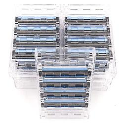 36 Taconic Shave Triple Blade Razor Cartridges - For all Gil