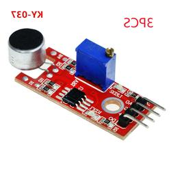 3x microphone sensor pic avr high sensitivity