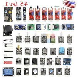 45 In 1 Sensor Module Starter Set Kit For Arduino Raspberry