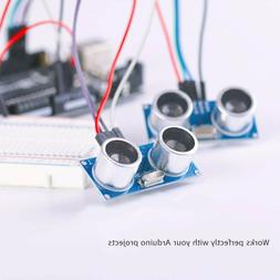 ELEGOO 5PCS HC-SR04 Ultrasonic Module Distance Sensor for Ar