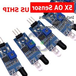 5pcs IR Infrared Obstacle Avoidance Sensor Module for Arduin