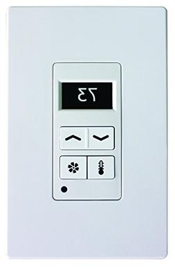 Leviton 95A03-1TWH Thermostat Display Control, White