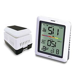 ECOWITT WH0290 Air Quality Monitor Meter PM2.5 Detector Indo
