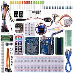 Kuman for Arduino UNO R3 Project Super Starter Kit with Tuto