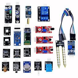 OSOYOO 20 in 1 Ultimate Sensor Kit for Arduino UNO R3 Mega25