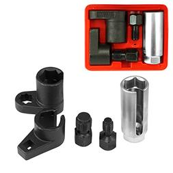 Tooluxe 20764L Oxygen Sensor Socket Wrench and Thread Chaser