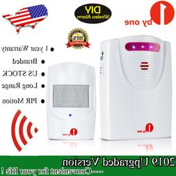 Wireless Driveway Alert Alarm System Infrared PIR Motion Sen