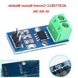 ACS712 Current Sensor Module with 5A 20A 30A Analogue Sensin
