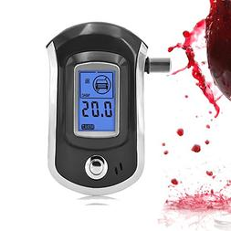 Alcohol Tester, Mouthpieces Personal Breathalyzer Digital Br