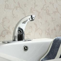 Automatic Sink Mixer Sensor Tap Hands Free Infrared Water Ba