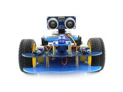 Bluetooth Smart Car Robot Building Kit for Arduino UNO PLUS+