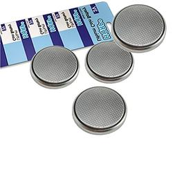 HQRP 4-Pack Coin Lithium Battery for Sam