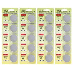 Fortune CR2450 630mA 3V Lithium Battery,for Led Light Candle