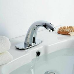 Curved Automatic Electronic IR-Sensor Touchless Faucet Hands
