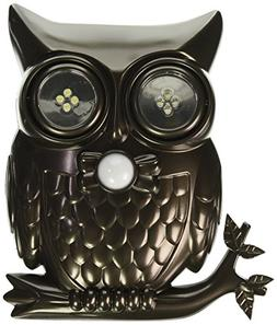 Ideaworks Decorative LED Motion Sensor Hooting Owl Light
