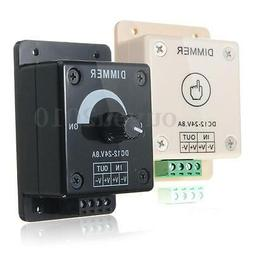 Dimmable LED Light Dimmer Switch Brightness Adjustable/Touch