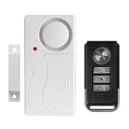 Door Window Entry Security ABS Wireless Remote Control Door