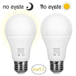 Dusk to Dawn Light Bulb LED Outdoor Light Bulbs Sensing Ligh