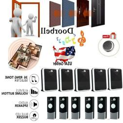 1Byone Easy Chime Wireless Doorbell Door 36 Chimes Kit with