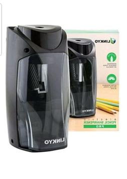 Electric Pencil Sharpener Pro Linkyo In Black Color with Mul