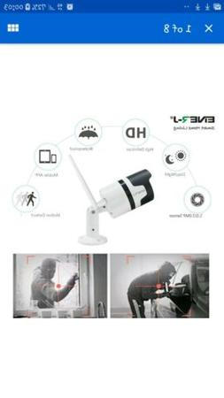 Ener-J WiFi Outdoor IP Camera With 2 Way Audio, PTZ And Moti