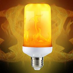 Flicker Flame Fire Effect E27 LED Simulated Light Bulb Warm