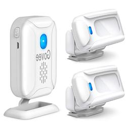 Home Security Driveway Alarm,Wireless Motion Detector 1 Rece