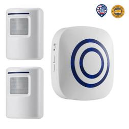 Home Security Wireless Driveway Alarm Doorbell Garage  Detec