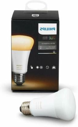 Philips Hue White Ambiance Dimmable Bulb Hub Req Works with