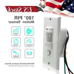 In-Wall Motion Sensor Light Switch, PIR Occupancy Sensor Sin
