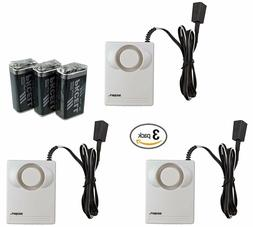 3-Pack Instapark IN07A Water Leak Leakage Detection Detector