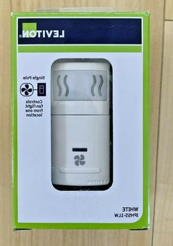 Leviton Fan Control Humidity Sensor Metal , 1 Pack, White