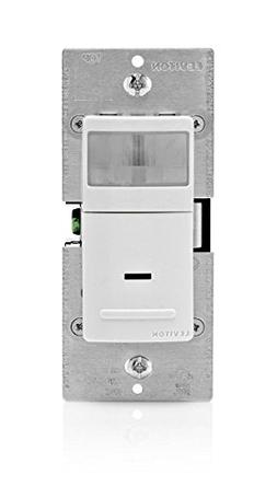 Leviton IPS05-1LZ Incandescent Relay Occupancy Sensor, 600-w