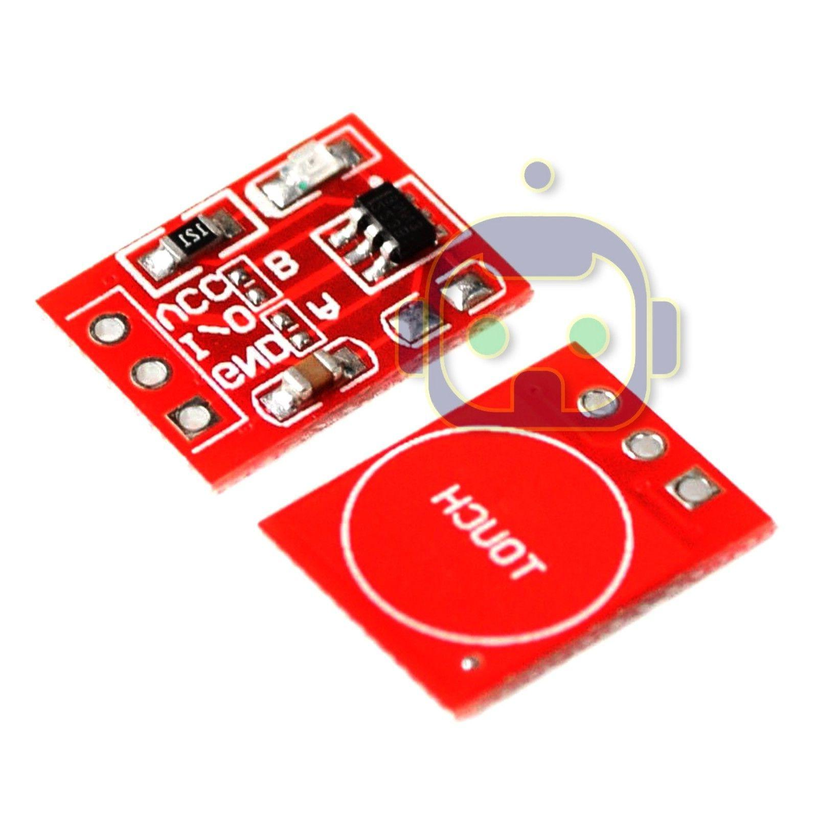 1~10 Capacitive Touch Self Lock Module Arduino