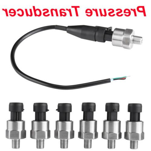 1/8 Stainless Pressure Transducer for Fuel Air Water
