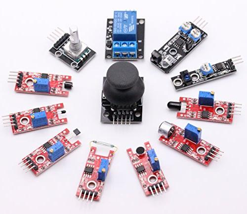 HWAYEH 37 In Sensor Modules For Arduino MEGA 2016 New For Starters DIY Raspberry Projects Starter Kits