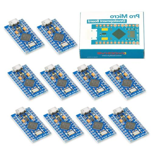 KOOKYE 10PCS Pro ATmega32U4 with 2 Pin Header