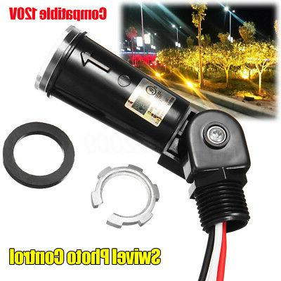 120v photo cell light control dusk to