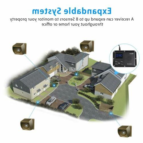 1/3 Driveway Wireless System Motion Detectors