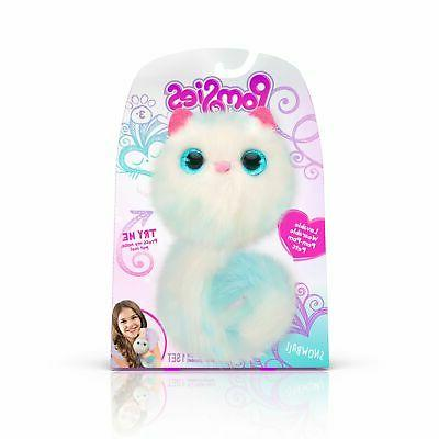 Pomsies 1880 Snowball Plush Interactive Toys, One Size, Whit