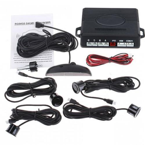 Free Parking LED Display Car Reverse Radar System