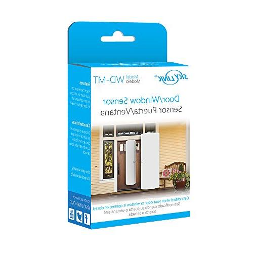 WD-MT Skylink Wireless and SkylinkNet Security Alarm & Home Automation your Door open